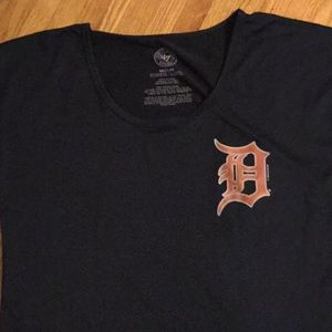 Short sleeve Detroit Tigers ladies jersey M